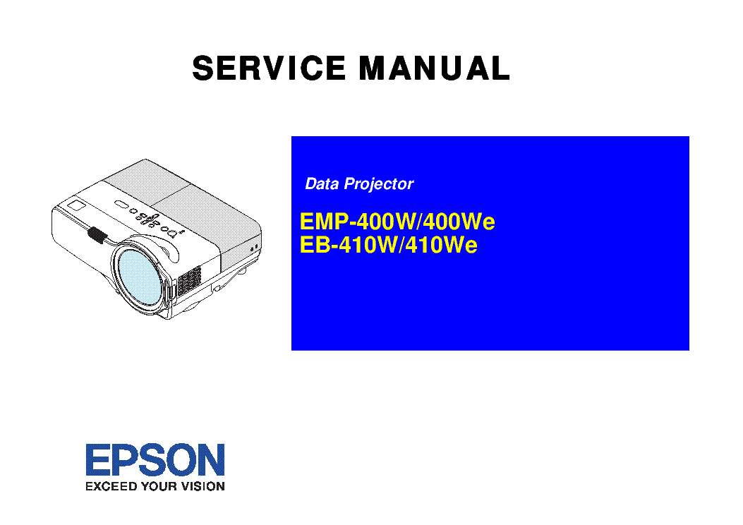 epson projector service manual download