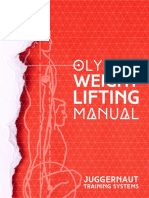 olympic weightlifting strength manual pdf