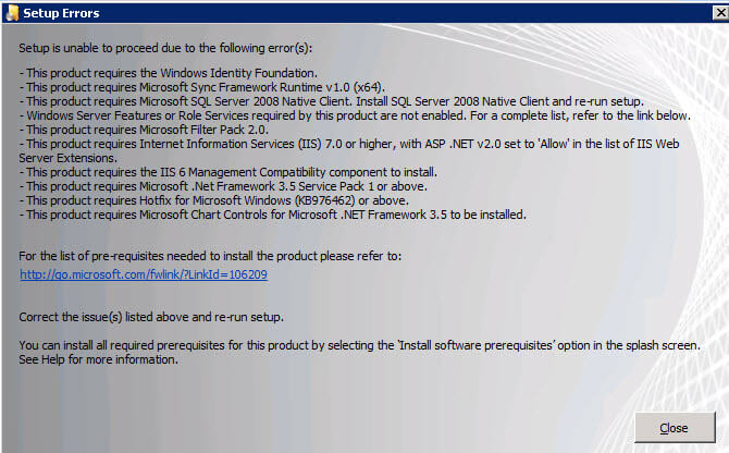 manually download sharepoint 2010 prerequisites