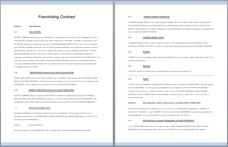 free download mes contract manual