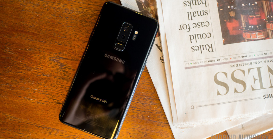 how to manually update apps on samsung galaxy s9